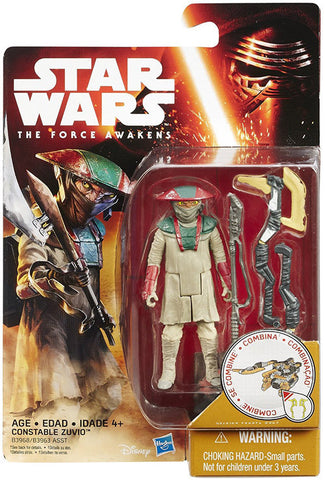 Star Wars - The Force Awakens 3 3/4-Inch Snow and Desert Action Figure: Constable Zuvio