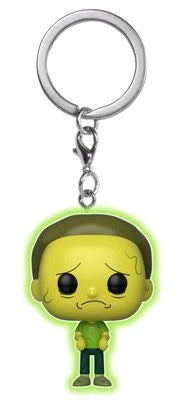 Rick and Morty - Toxic Morty Glow Pocket Pop! Keychain