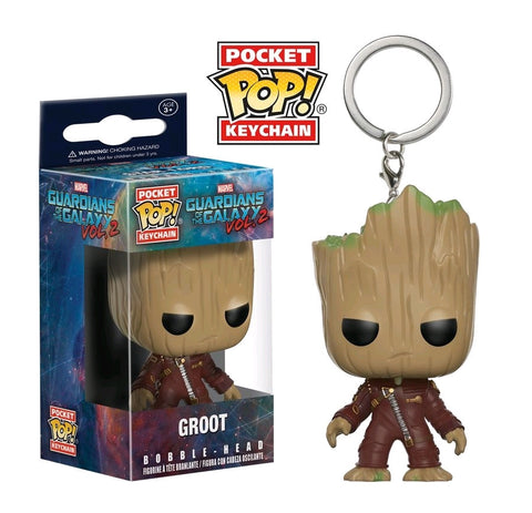 Guardians of the Galaxy: Vol. 2 - Groot Pocket Pop! Keychain