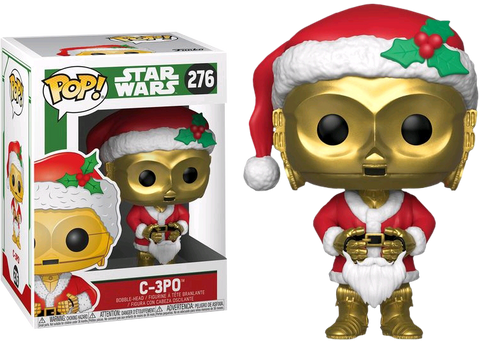 Star Wars - C-3PO as Santa Holiday Pop! Vinyl Figure - Pre-Order