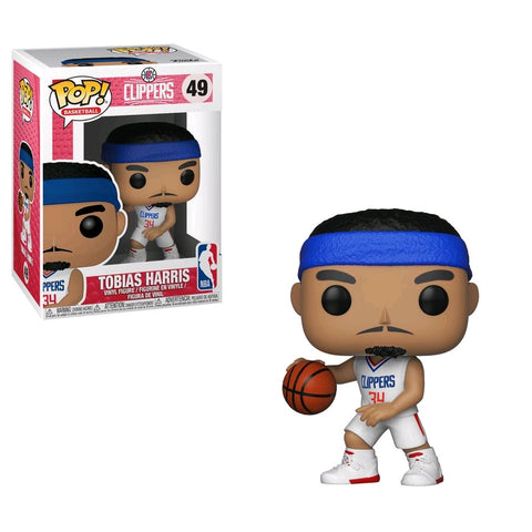 NBA: Clippers - Tobias Harris Pop! Vinyl Figure - Pre-Order