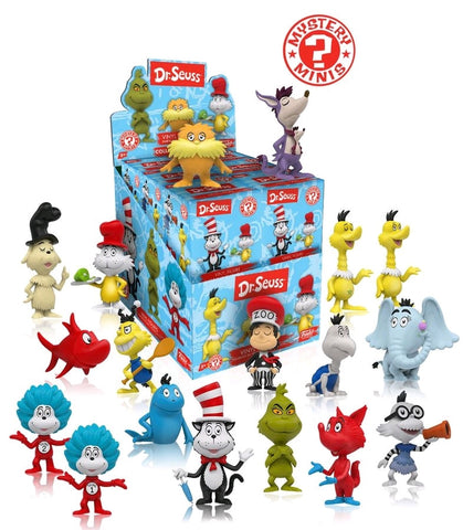 Dr Seuss - Mystery Mini Blind Box Case of 12 Figures