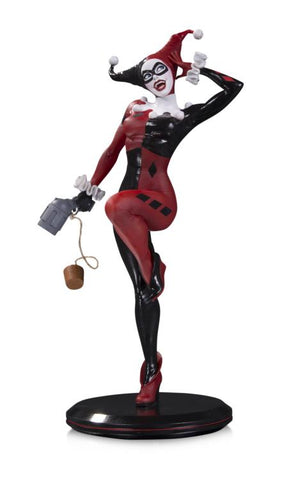 "DC Cover Girls - Harley Quinn 11"" Statue by Joelle Jones - Pre-Order"