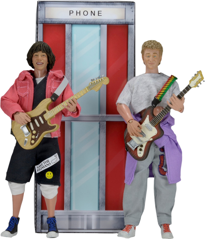 "Bill and Ted's Excellent Adventure - Wyld Stallyns 8"" Action Figures 2-Pack"