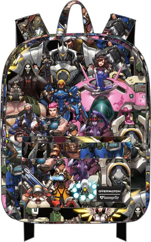 Overwatch - Collage Print Backpack - Pre-Order