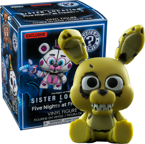 Five Nights at Freddy's: Sister Location- Mystery Minis: Gamestop Exclusive Case of 12 Blind Boxes - Pre-Order