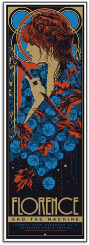 Florence & The Machine - Paris Limited Edition Print