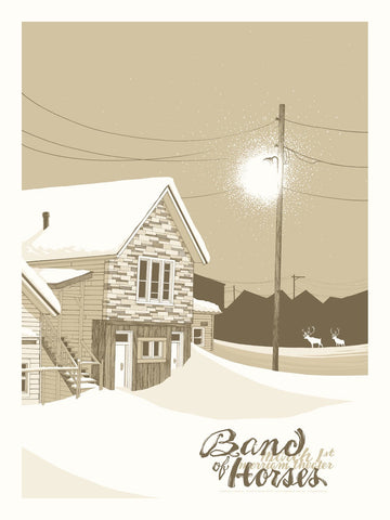 Band of Horses - Philadelphia 2014 Limited Edition Print
