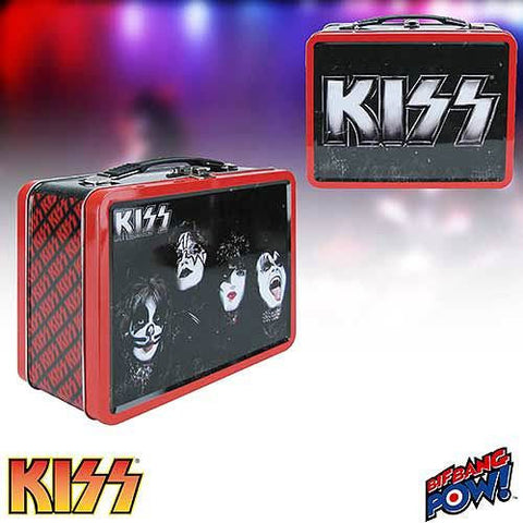 KISS - Tin Tote/Lunchbox