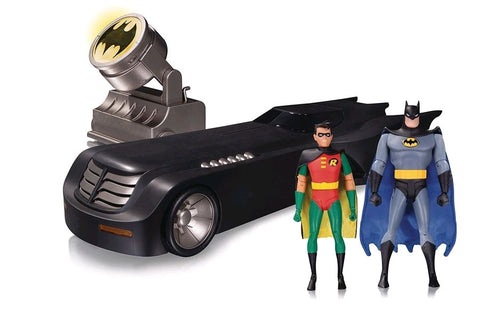 Batman: The Animated Series - Deluxe Batmobile & Figure Set