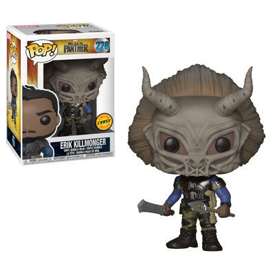 Black Panther - Erik Killmonger Pop! Vinyl Figure: Case of 6 with A Chase - Pre-Order
