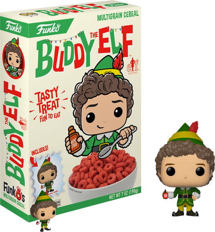Elf - FunkO's Cereal with Buddy Pocket Pop! Vinyl Figure - Pre-Order