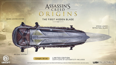 Assassin's Creed: Origins - The First Hidden Blade Replica