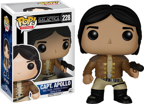 Battlestar Galactica - Captain Apollo Classic Pop! Vinyl Figure