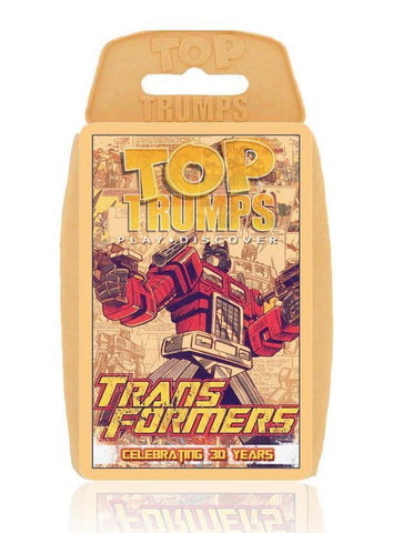 Transformers - Top Trumps Card Pack