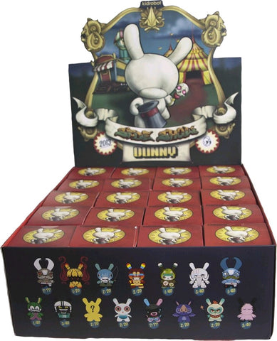 "Dunny: Side Show - 3"" Dunny Mystery Mini Figures: Case of 20 Blind Boxes"