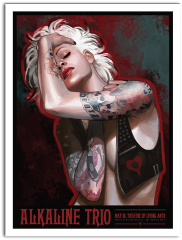 Alkaline Trio - 2015 Tour Limited Edition Print