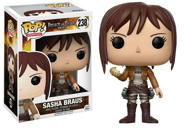Attack on Titan - Sasha Braus with Potato Pop! Vinyl Figure