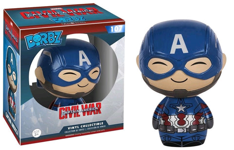 Captain America Civil War - Captain America Dorbz Vinyl Figure