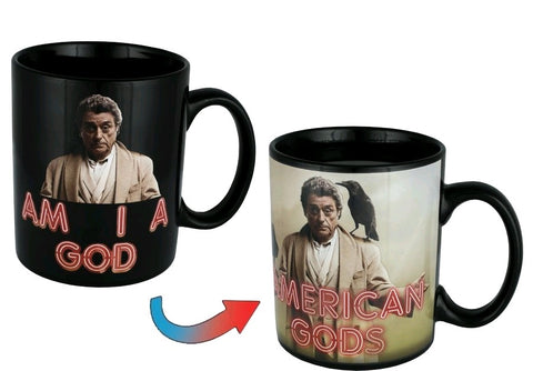 American Gods - Mr Wednesday Heat Change Mug - Pre-Order