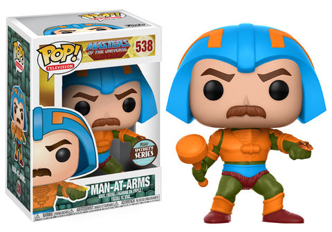 Masters of the Universe - Man At Arms Specialty Store Exclusive Pop! Vinyl Figure - Pre-Order