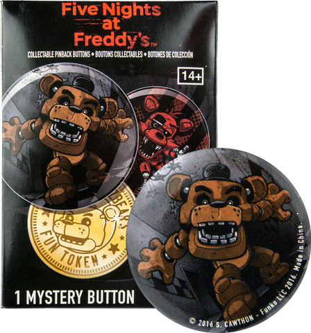 Five Nights at Freddy's - Button (Badge) Blind Bag - Pre-Order