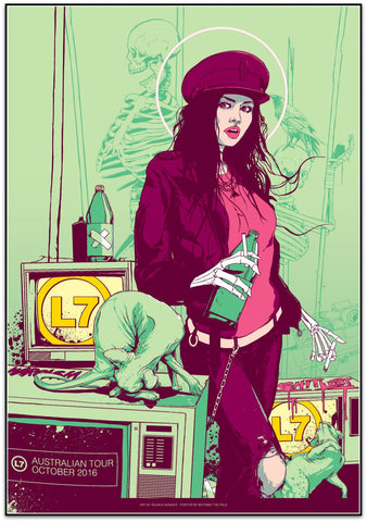 L7 - Australian Tour 2016 Limited Edition Print