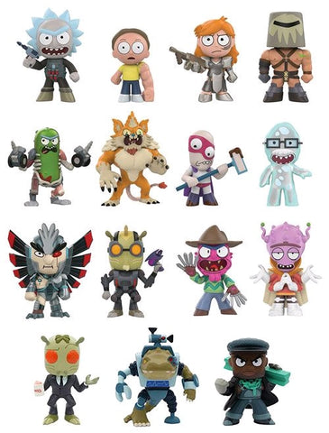 Rick and Morty - Series 02 Hot Topic Exclusive Mystery Mini Blind Box Case of 12 Figures - Pre-Order