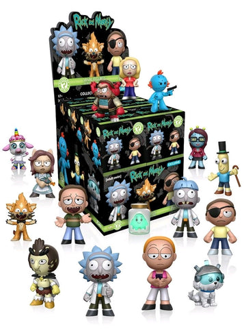 Rick & Morty - Target Exclusive Mystery Minis Case of 12 Blind Boxes - Pre-Order