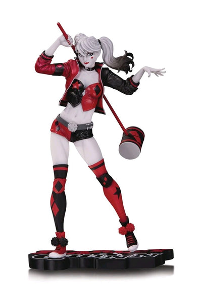"Batman - Harley Quinn Red, White & Black 8"" Statue by Philip Tan - Pre-Order"