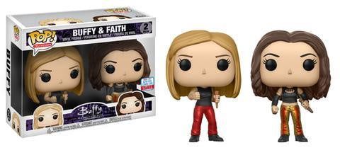 Buffy The Vampire Slayer - Buffy & Faith 20th Anniversary Pop! Vinyl Figure 2-Pack (NYCC 2017 Exclusive)