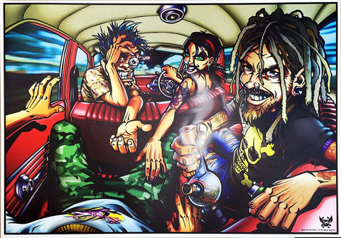 Hits of the Bong aka Deathtrip- Melbourne 2009 Limited Edition Print