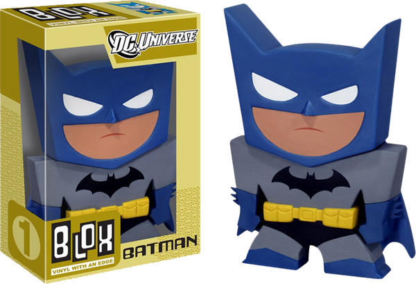 Batman - Batman Blox Metallic Figure SDCC 2011 US Exclusive