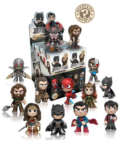 Justice League (2017) - Gamestop Exclusive Mystery Mini Blind Box Case of 12 Figures