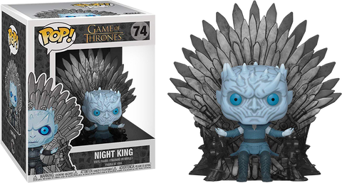 Game of Thrones - Night King Iron Throne Deluxe Pop! Figure