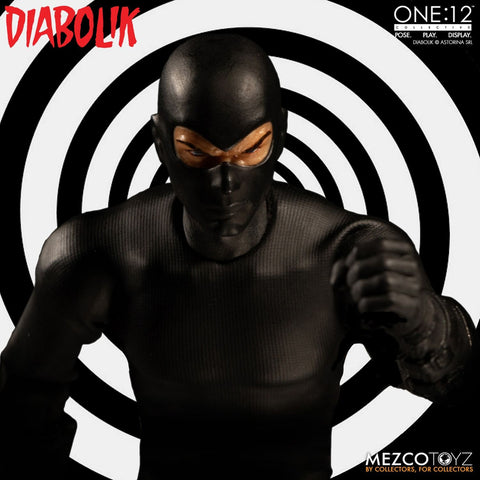 Diabolik - Diabolik One:12 Collective 1/12th Scale Action Figure - Pre-Order