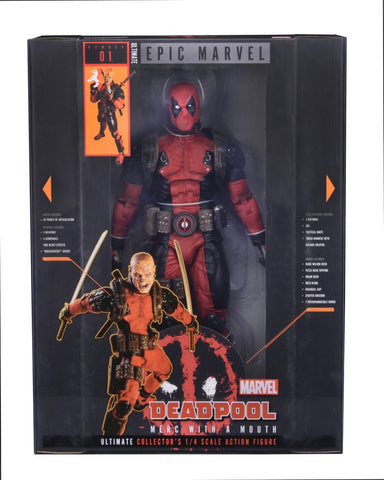 Deadpool - Deadpool Ultimate 1:4 Scale Action Figure - Pre-Order