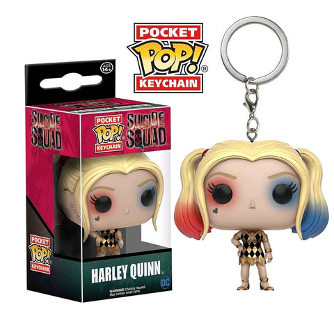 Suicide Squad - Harley Quinn in Gown Pocket Pop! Keychain