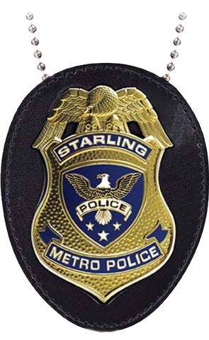 Arrow - Starling City Police Badge Replica