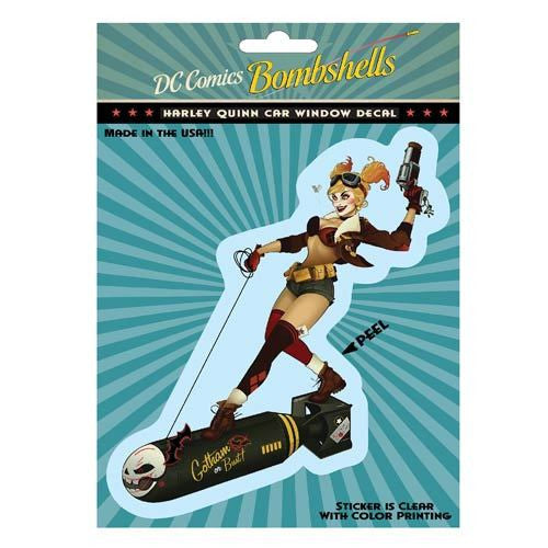 DC Bombshells - Harley Quinn Full Color Decal