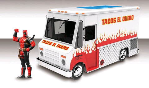 Deadpool - Food Truck Hollywood Rides 1:24 Scale Diecast Vehicle - Pre-Order