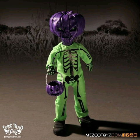 Living Dead Dolls - Jack O Lantern Purple & Green Variant (2016 Halloween Australian Exclusive)