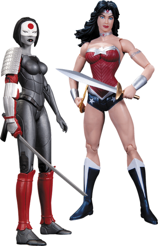 DC Comics - Wonder Woman vs Katana Action Figure 2-Pack