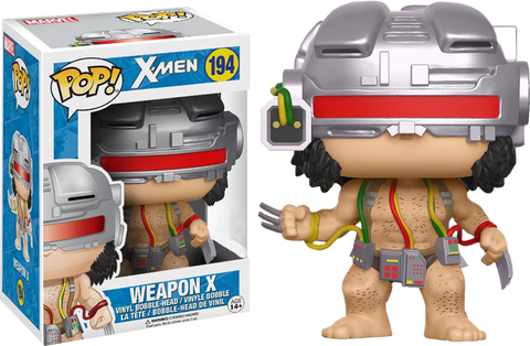 X-Men - Weapon X Logan (Wolverine) Pop! Vinyl Figure