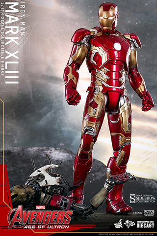 "Avengers: Age of Ultron - Iron Man Mark XLIII 1:6 Scale 12"" Action Figure - Pre-Order"