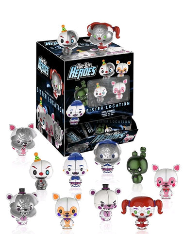 Five Nights at Freddy's: Sister Location - Pint Size Heroes Mystery Mini Blind Bags Case of 24 Figures
