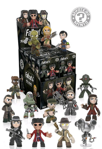 Fallout 4 - Mystery Mini Blind Box Case of 12 Figures