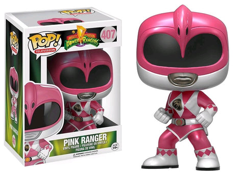 Power Rangers - Pink Ranger Metallic Pop! Vinyl Figure