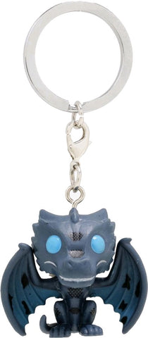Game of Thrones - Icy Viserion Pocket Pop! Keychain - Pre-Order