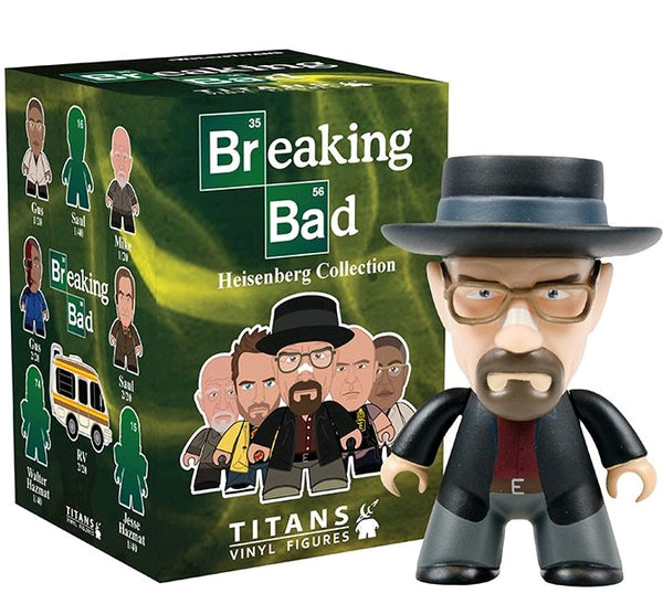 Breaking Bad: Heisenberg Collection - Titans Mystery Mini Blind Box Case of 20 Figures